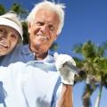 Les seniors aiment le golf
