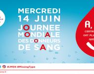 Lire la suite de Journée mondiale des donneurs de sang : la vie ne tient qu'à une lettre…